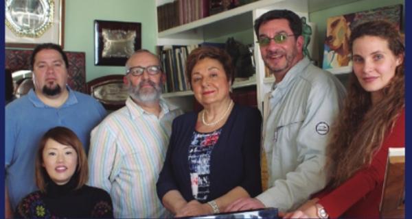 """Die Protagonisten des Singspiels """"Música Clásica""""."""