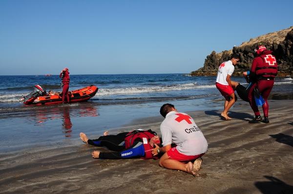 Immer wieder wird von Rettungskräften der Ernstfall geübt.