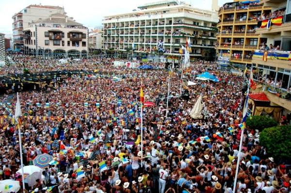 Die Fiesta del Carmen von Puerto de la Cruz ist einer der Höhepunkte.