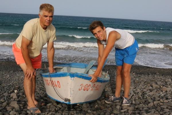 Jacinto hat allen Grund auf seinen Sohn David und dessen erwachsenes Vorgehen stolz zu sein.