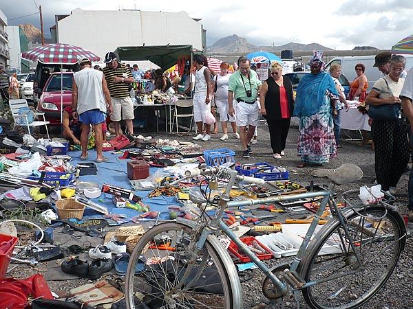 Sonntags-Flohmarkt in Guaza