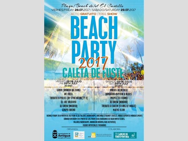 Beach Party 2017 in Antigua