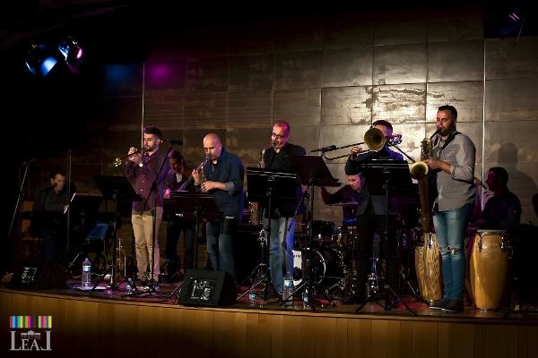 Jazzkonzert in Tazacorte mit La Banda del Solar.