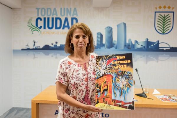 Gran Canarias Hauptstadtbewohner freuen sich auf das spektakuläre Feuerwerk.