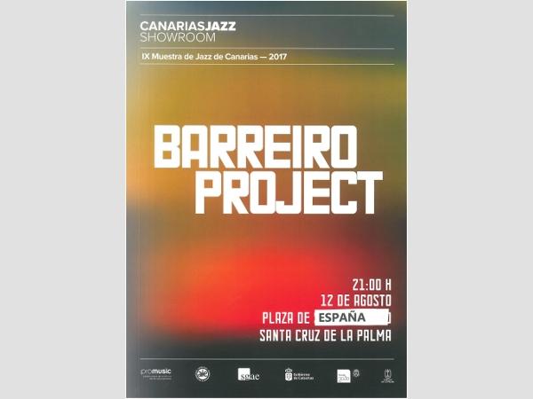 "Festival de Jazz de la Palma mit ""Barreiro Project!""."