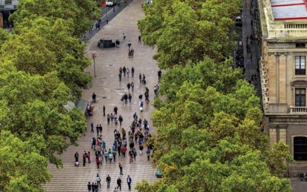 Die weltberühmten Ramblas in Barcelona wurden zum Schauplatz des Terrors.