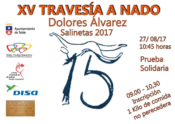 15. Travesia a Nado de Salinetas Dolores Álvarez