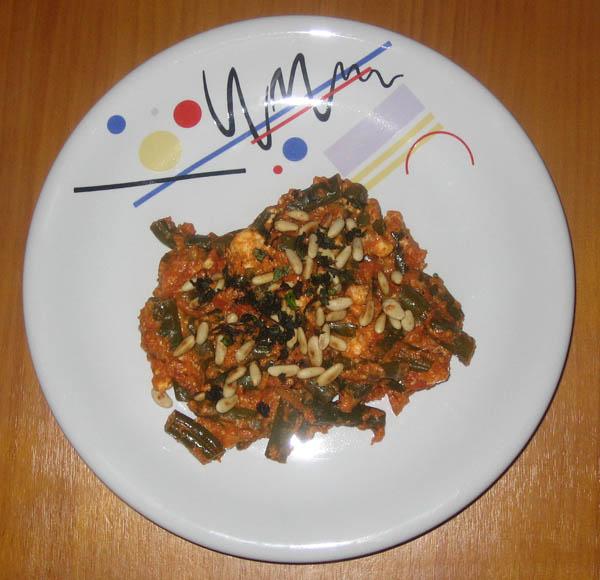 Bohnen-Feta-Topf