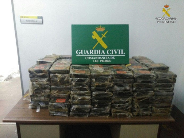 Fast 500 Kilo Koks beschlagnahmt