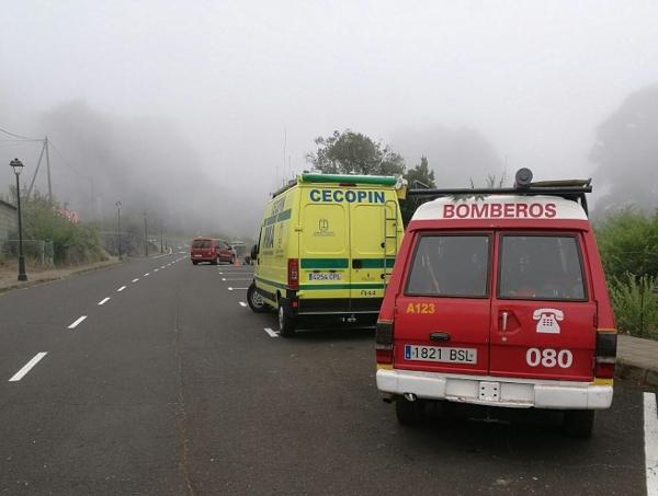 Feuerwehr und das Koordinationszentrum CEOPIN suchten nach dem vermissten Briten – bisher ohne Ergebnis.