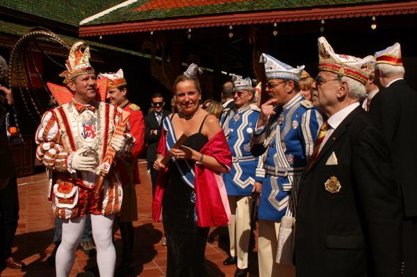Prinz Lothar I, & Venetia Ute und Gefolge