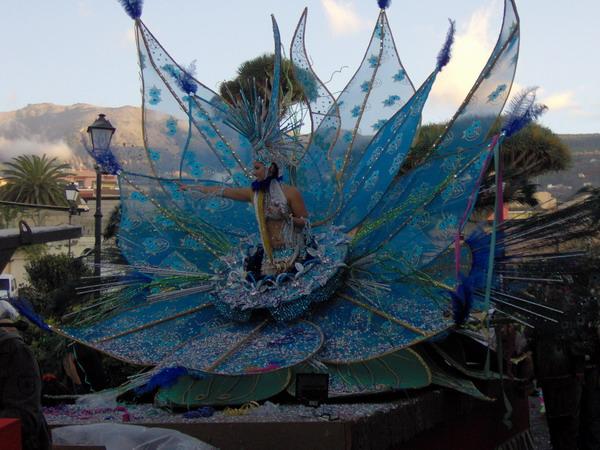 Karnevalsumzug in La Orotava 2008