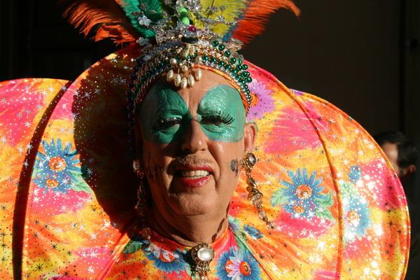 Karneval in Puerto de la Cruz 2009 - Bund und fröhlich