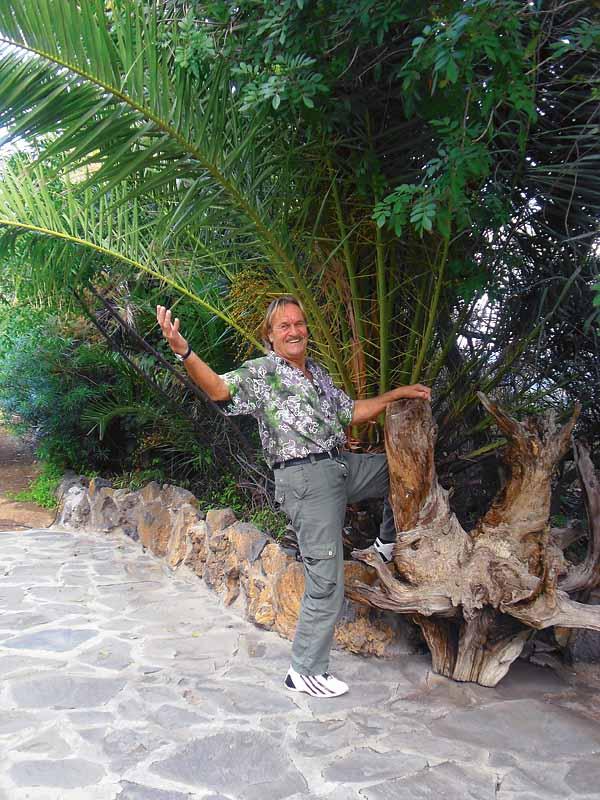 Ecky Bogner sprüht vor ansteckendem Elan und Lebensfreude