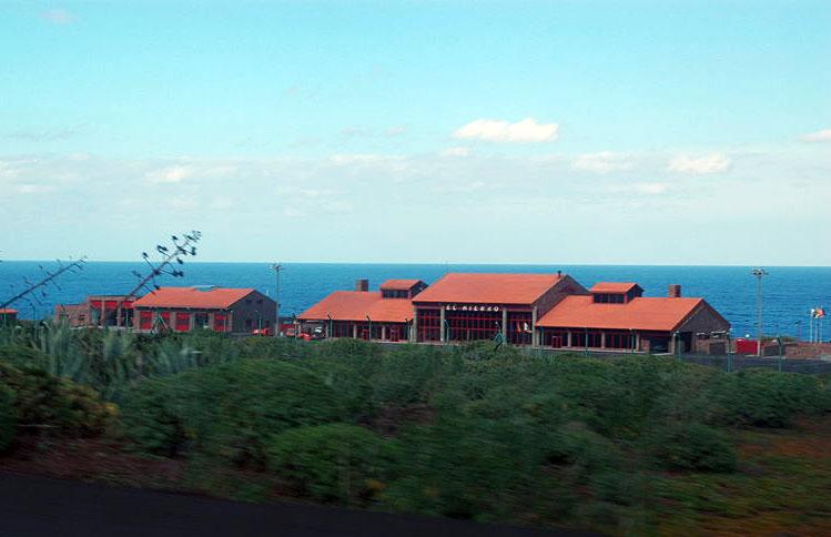 Flughafengebäude von El Hierro