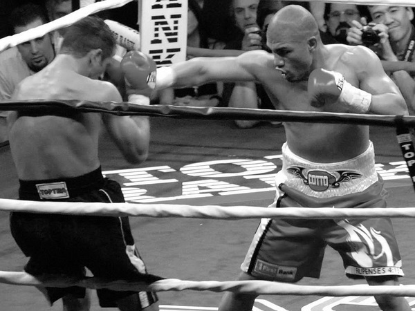 Miguel Cotto, who beat Shane Mosley by a flip coin decision