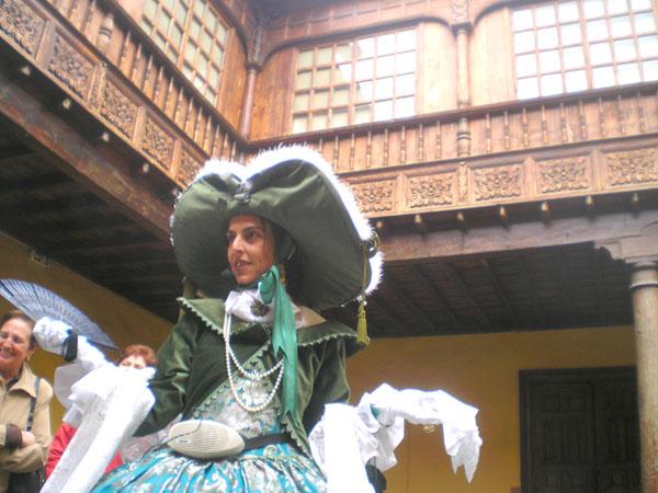 Besichtigung mit Schauspielszenen in La Laguna