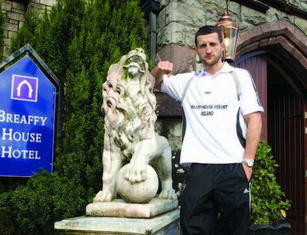 Carl Froch in pre-training at the Breaffy House Resort, Castlebar, Co Mayo in Ireland