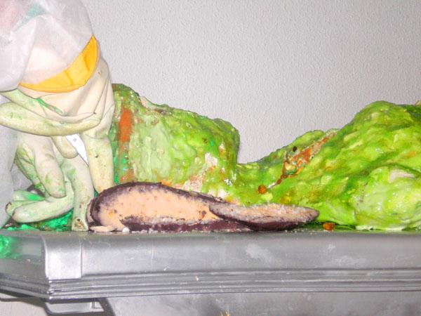Forscher-Stolz: Freigelegte Alien-Organe