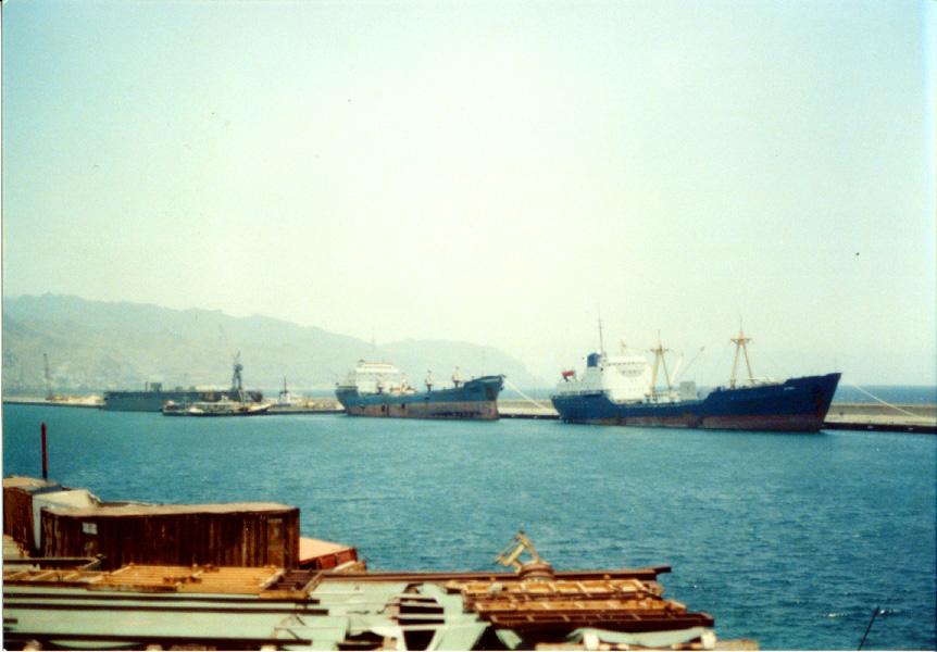 Hafen Santa Cruz: Umschlageinbusse durch die Krise