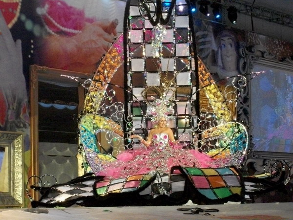 Reina del Carnaval 2010 Santa Cruz