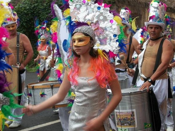 Karneval Piñata Chica in Tacoronte auf Teneriffa
