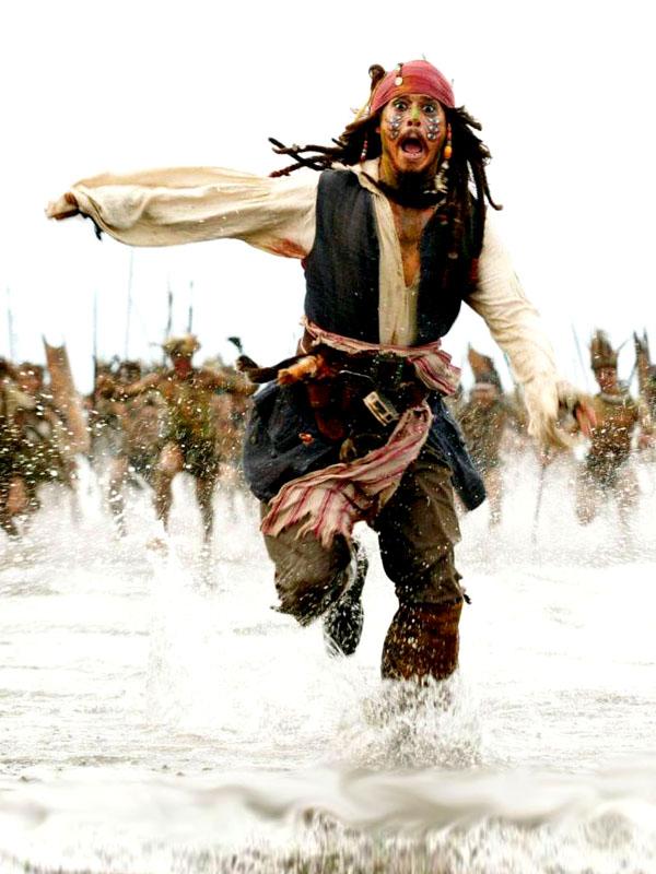 Johnny Depp als Pirat! Wo? In der (Karibischen) Inselwelt
