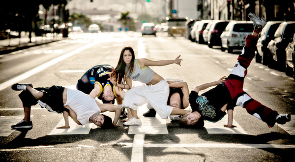 "Breakdance Act ""Energy Angels"""