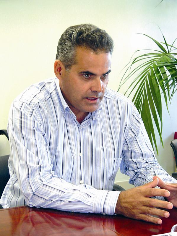 Director of Adeje's centre for tourism development, Juan José Sánchez Bacállado