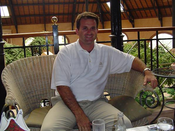 Director of Tecina golf course, Carlos Beautell