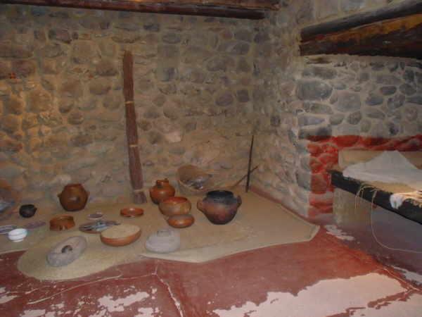Im archäologischen Museum in Gáldar kann man sehen, wie die Guanchen einst lebten.