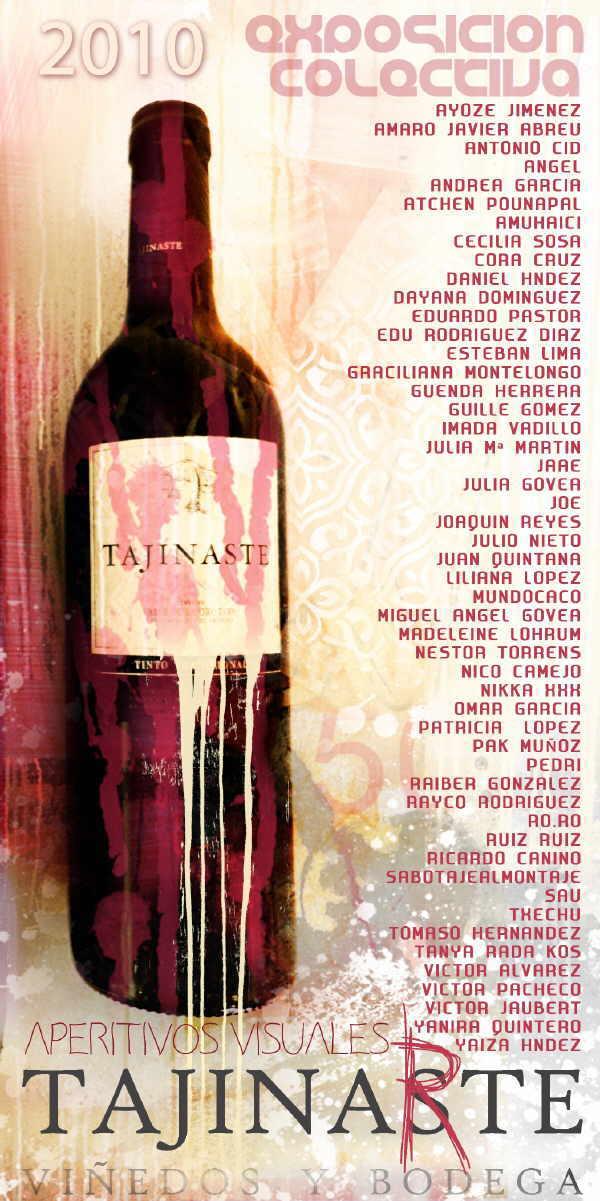 Wein aus dem Künstler-Blickwinkel betrachtet.