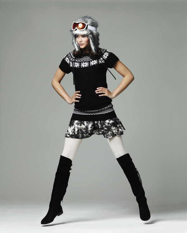 Nicht nur in der Young Fashion sind Overknees jetzt ein Renner. Generell zählen solche Stiefel zu den angesagten Accessoires der Saison