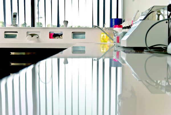 Moderne Beauty-Labors sind auf dem gleichen Standard wie medizinische Einrichtungen