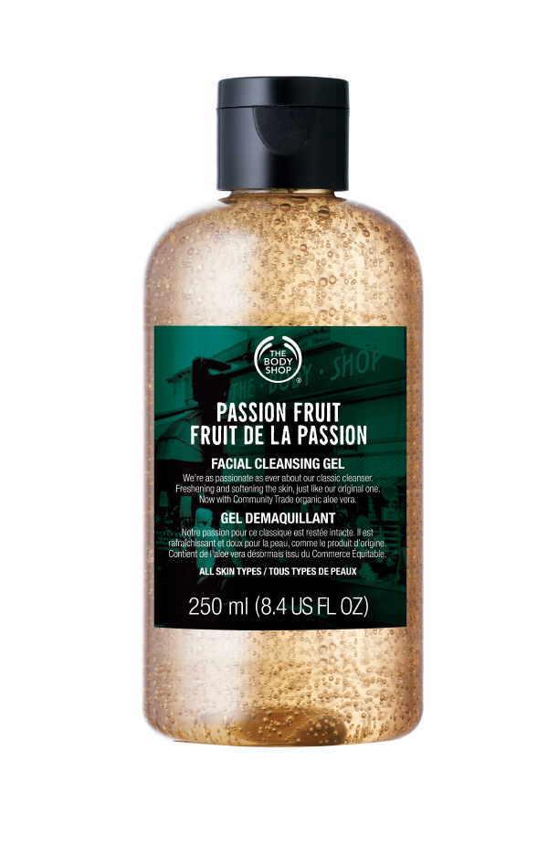 Auch natürliche Rohstoffe aus fernen Ländern halten Einzug in die Beauty – hier wurde Passionsfrucht für ein Reinigungsgel verwendet.