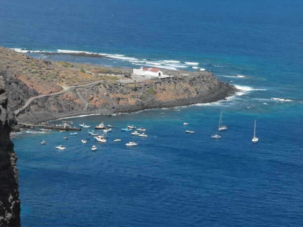Die Landzunge Puntallana wird zum neuen Pilgerort.