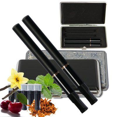 Die elektrische Zigarette Vision V10 im Set mit zwei kompletten E-Zigaretten