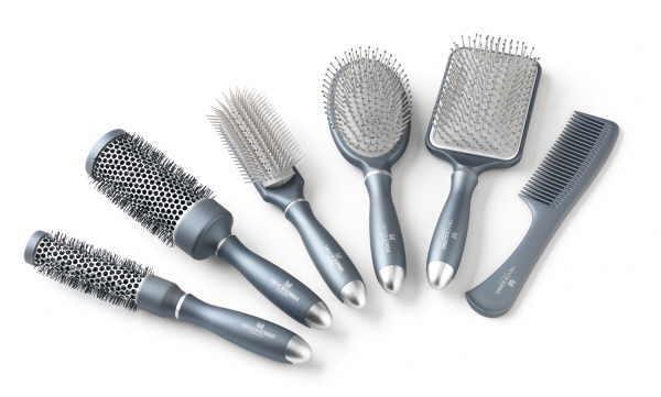 Die richtige Bürste für jedes Haar hilft bei Pflege und Styling