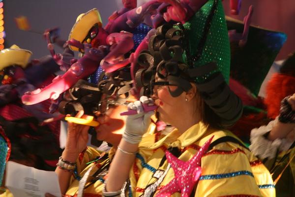 Gala zur Wahl der Karnevalskönigin