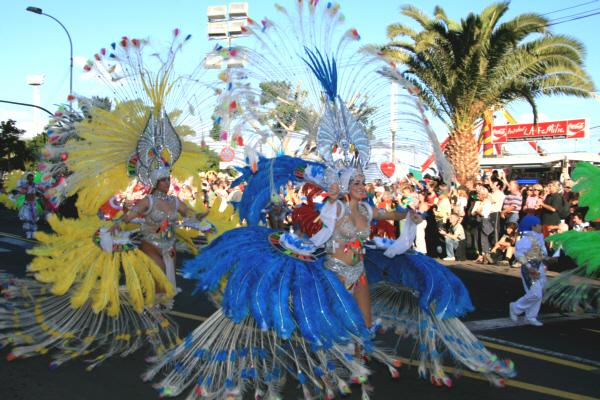 Karnevalsumzug in Santa Cruz