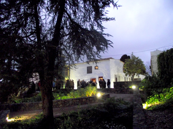 Die R�ckfront des Hauses