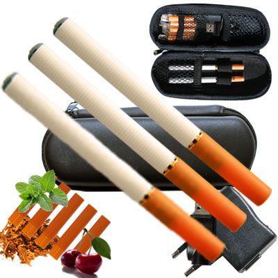 Die elektrische Zigarette Mini im Internetshop www.elektrische-zigarette.eu als Set mit 3 E-Zigaretten