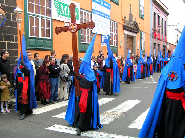 Prozession in La Laguna