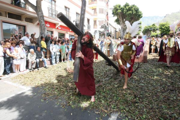 Die Passionsspiele in Adeje begeistern jedes Jahr Zigtausende.