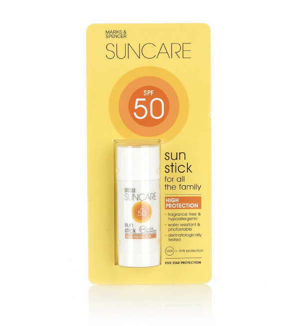 Praktisch, um den Sonnenschutz unterwegs wieder aufzufrischen: Ein Stick mit LSF 50