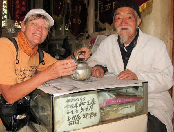 Interessante Begegnung mit dem Naturarzt Dr. Ho.