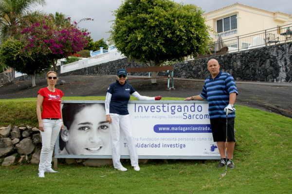 Christa Kinshofer verbindet auf ihren Trophys Golfen mit einem guten Zweck.