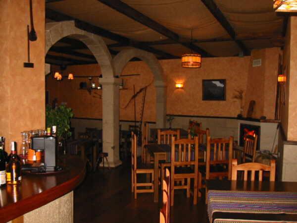 """Gemütlichkeit und ein besondere Speisekarte sind die Markenzeichen des Restaurants """"La Vereda""""."""