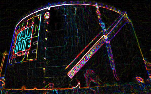 """El Tanque"": Geheimnisvoller Metallzylinder"