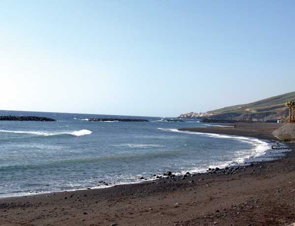 Die Playa de El Cabezo ist jetzt  schon schön und wird noch schöner.